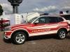 BMW X3 mit Designbeklebung in RAL 3000