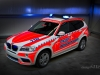 design112 BMW X3 First Responder Beklebung in RAL 3026