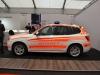 BMW X5 Notarzt Beklebung RAL3026