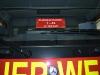 Schild Funkrufname - design112 Fahrzeugidentschild