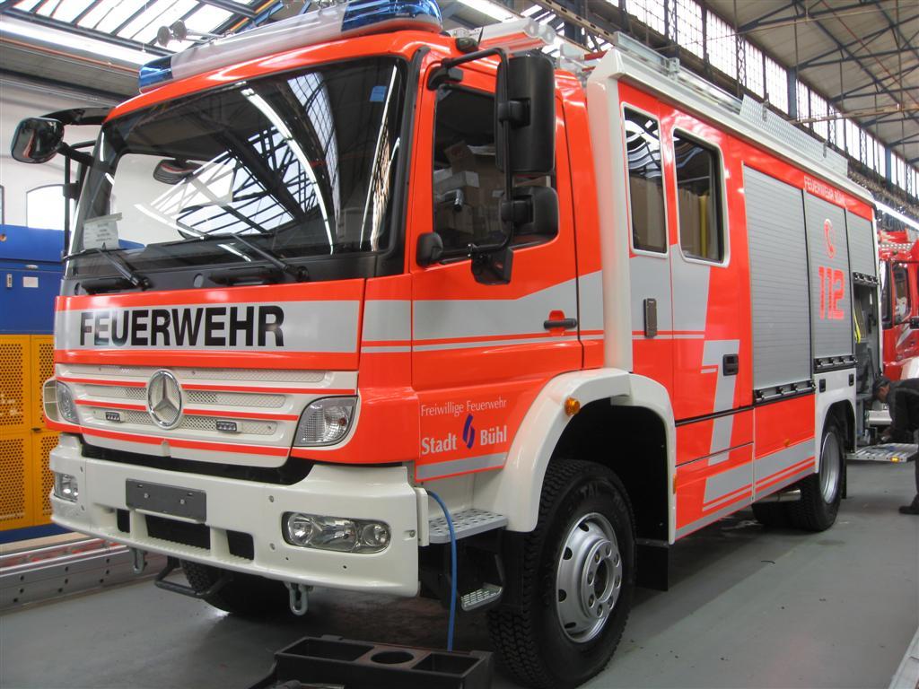 Feuerwehr Bühl Einsatz