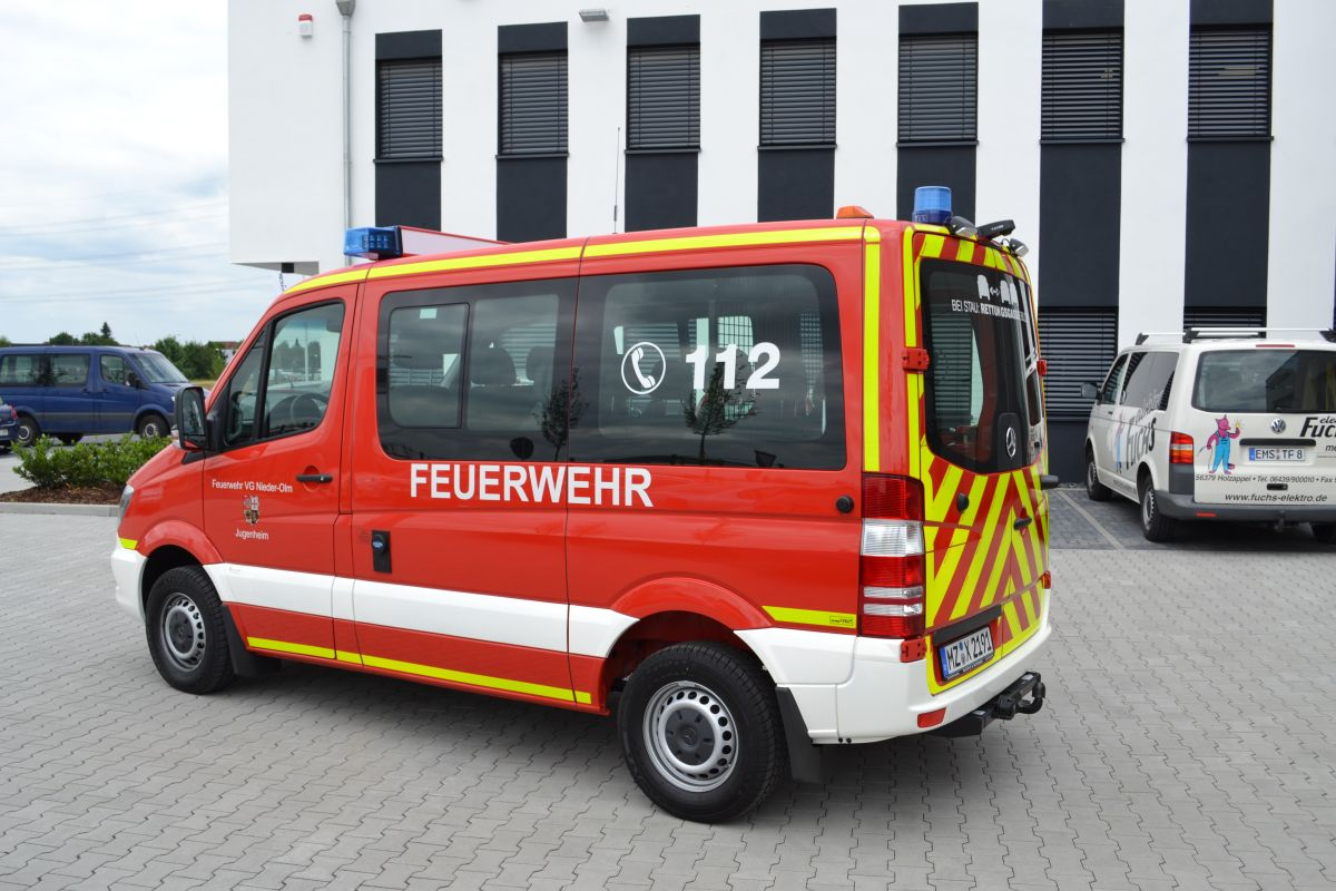 Mercedes Benz Sprinter MTW Feuerwehr Nieder-Olm