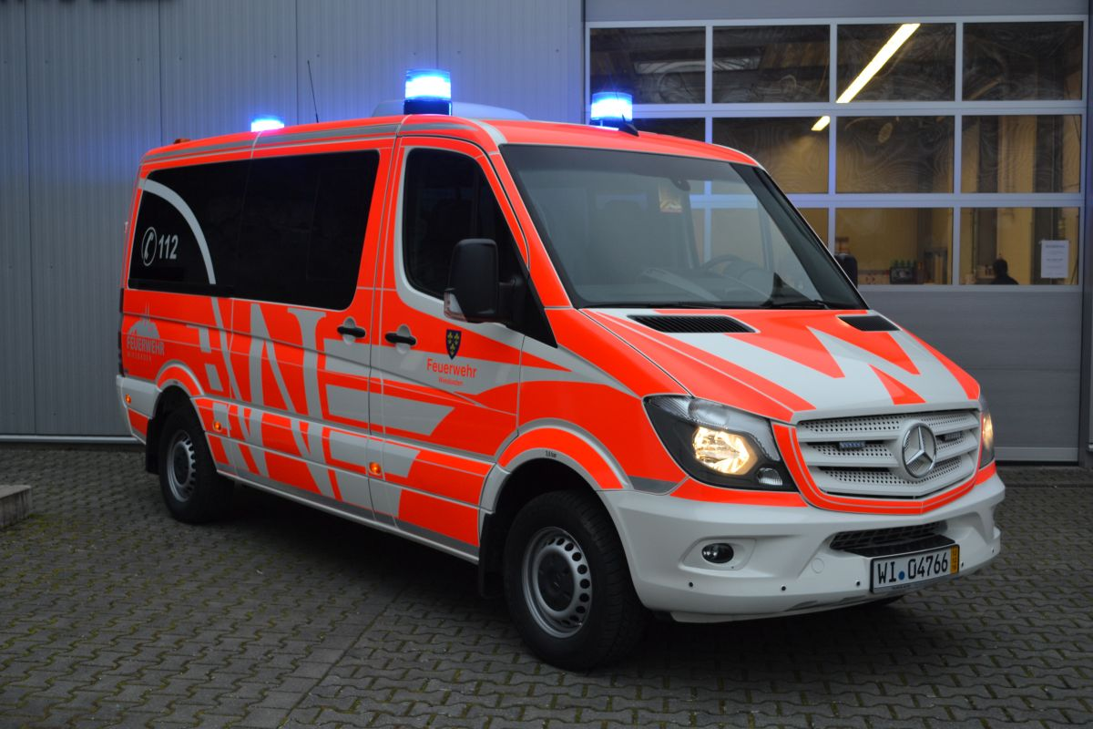 MB Vito Feuerwehr Wiesbaden