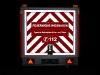 GA Feuerwehr Wiesbaden Kontrastbeklebung Heck bei Nacht